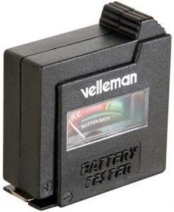 testeur Pile Velleman 59850